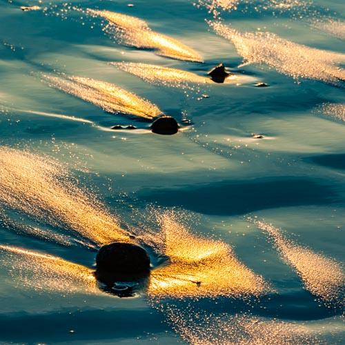 Der Moment, in dem der Sonnenuntergang ein einzigartiges Kunstwerk auf den Sandstrand malt... 08